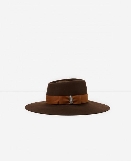 https://www.thekooples.com/fr/chapeau-feutre-marron-1437320.html